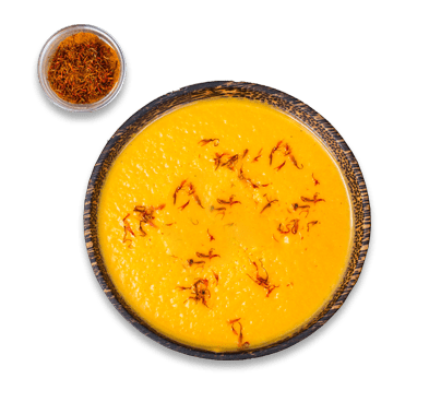 salsa allo zafferano