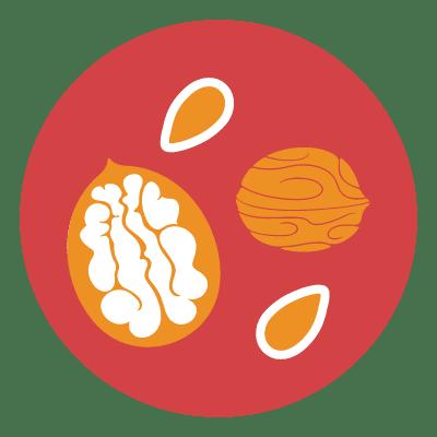 frutta secca a guscio
