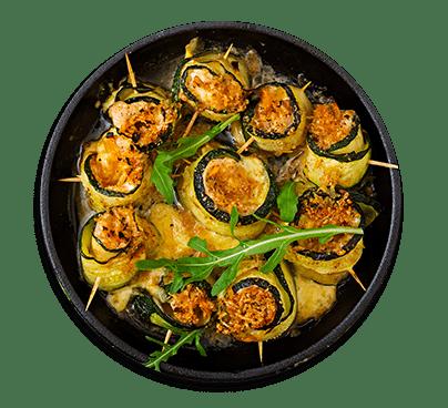 Involtini alle zucchine