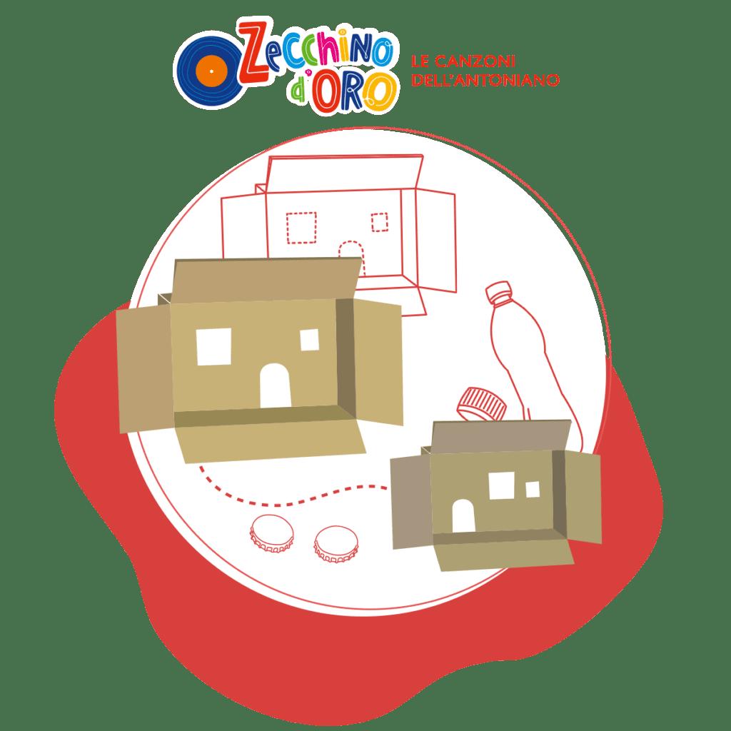 Costruisci la tua Casetta di Cartone!