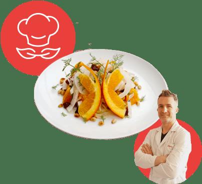 Insalata di arance e finocchi  Davide da Udine